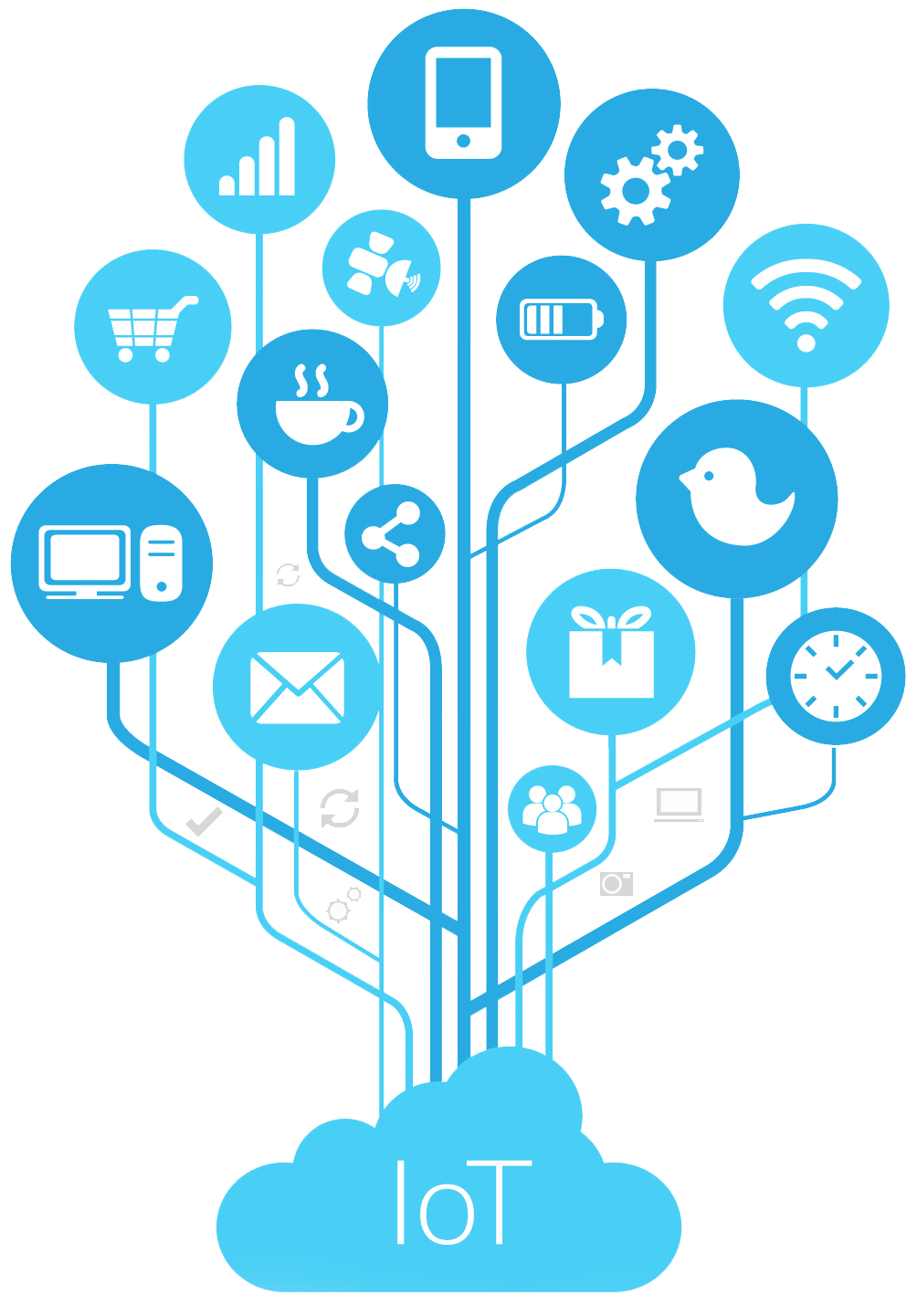 iot tree icon